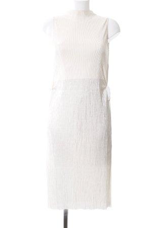 Zara Long-Bluse weiß Elegant