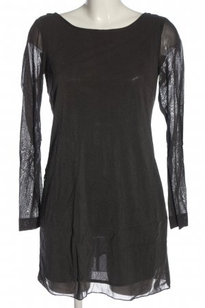 Zara Minikleid hellgrau Casual-Look