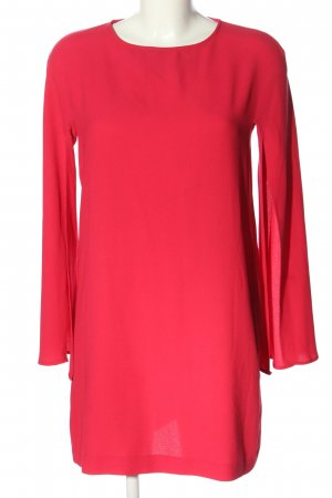 Zara Long-Bluse rot Elegant