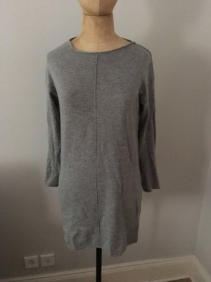 Zara Longpullover Mini Kleid Cashmere Wolle Gr. S