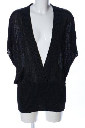 Zara Cárdigan largo negro look casual