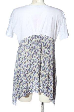 Zara Longshirt grafisches Muster Casual-Look