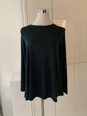 Zara Long Shirt dark green