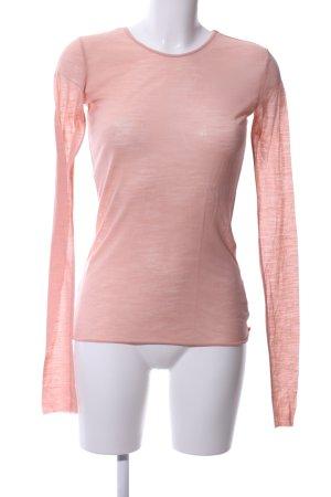 Zara Longsleeve pink Casual-Look