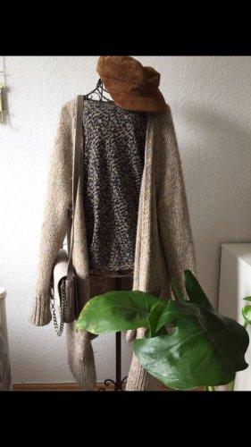Zara longsleeve Shirt mit Leoparden Print