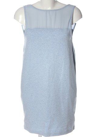 Zara Lange top blauw gestippeld casual uitstraling