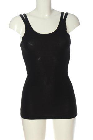 Zara Long Top black casual look