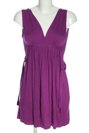Zara Top long violet style décontracté