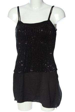Zara Lange top zwart casual uitstraling