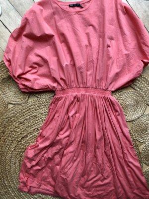 Zara M 38 Kleid in Koralle neu mit Etikett