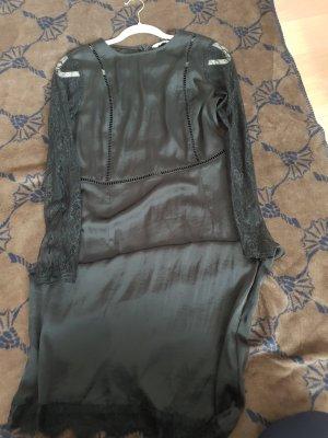 Zara M neu Schwarzes kleid mit spitze