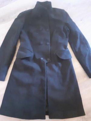 Zara Geklede jas zwart