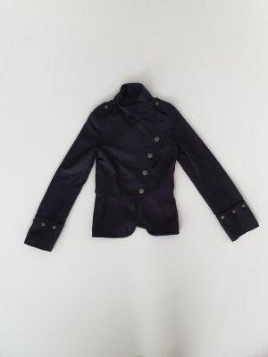 Zara Mango Military Style Jacke Blazer schwarz XS