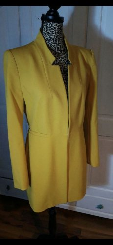 Zara Frock Coat yellow
