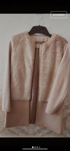 Zara Pelliccia color oro rosa