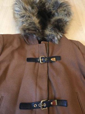 Zara Montgomery cognac-marrone scuro