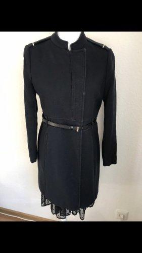 Zara Short Coat dark blue