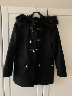 Zara Manteau polaire noir