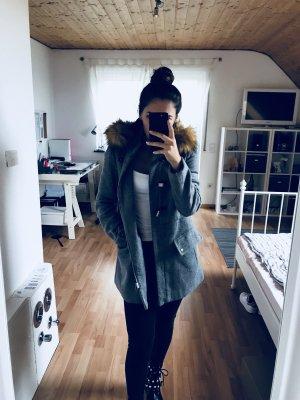 Zara Duffel Coat multicolored