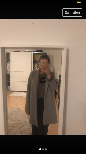 Zara Korte Jas lichtgrijs