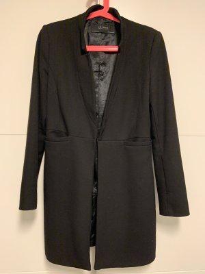 Zara Basic Manteau court noir