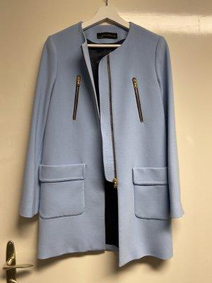 Zara Short Coat azure