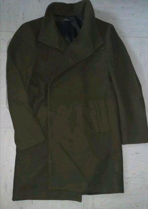 Zara Coat Dress dark green