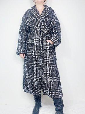 Zara Oversized jas zwart-wit