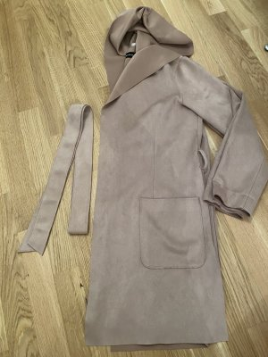 Zara Hooded Coat multicolored
