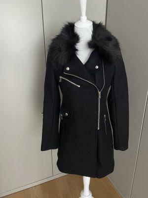 Zara Duffle-coat noir