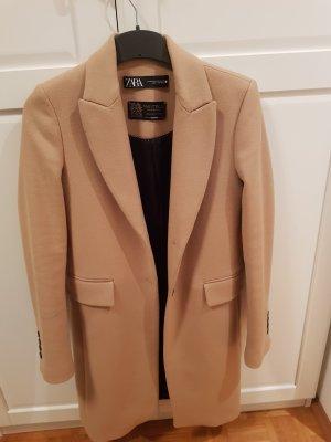 Zara Coat Dress camel