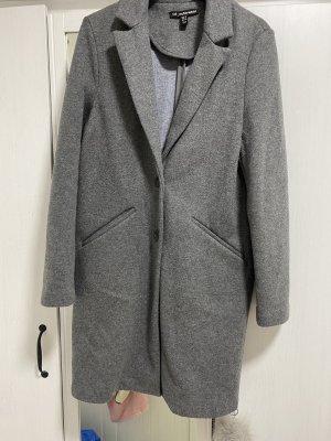 Zara Trafaluc Abrigo de piloto gris-gris oscuro