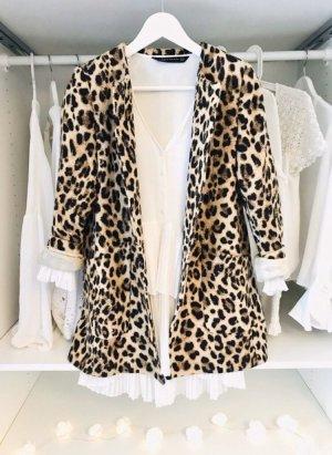 Zara Short Coat black-brown