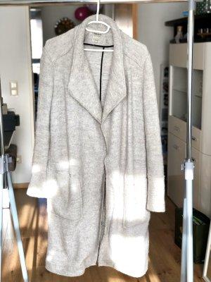 Zara Trafaluc Abrigo de entretiempo gris claro Lana