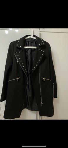 Zara Quilted Coat black
