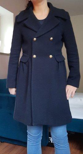 Zara Mantel dunkel Blau Gr.L M Herbsmantel Marine