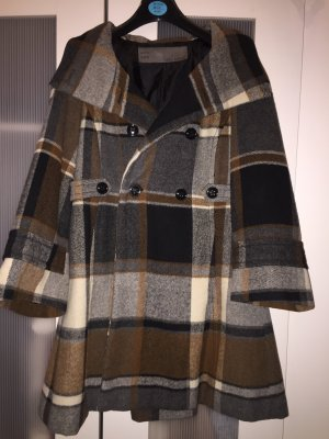 Zara Hooded Coat multicolored polyester