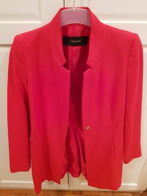 Zara Coat Dress red