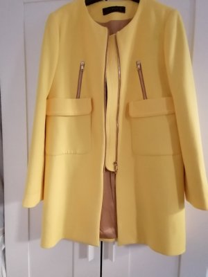 Zara Veste longue jaune