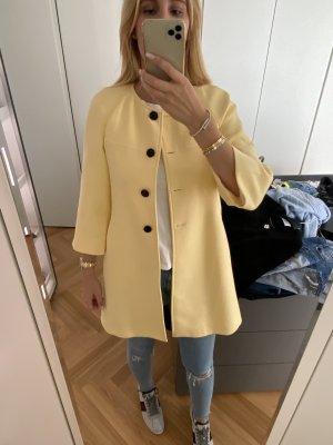 Zara Mantel gelb XS