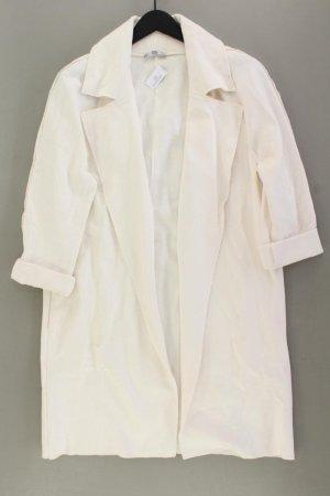 Zara Mantel Größe L weiß