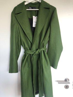Zara Mantel grün NEU Gr.L