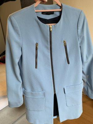 Zara Mantel in blau