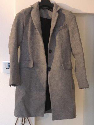 Zara Mantel in grau in XS