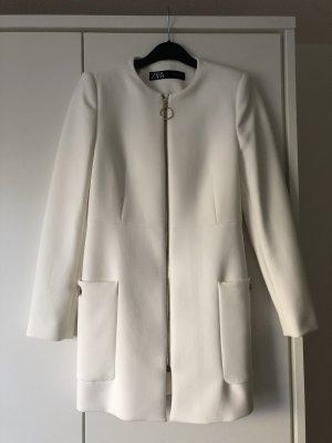 Zara Mantel in weiß