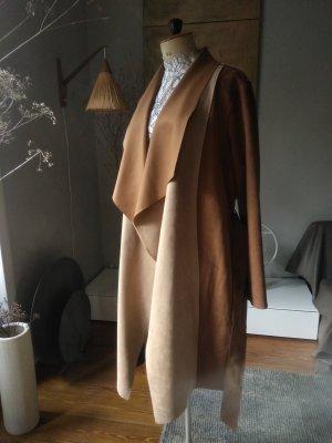 Zara Mantel, interessante Materialkombi, oversized.., Gr.M
