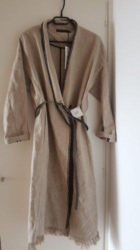 Zara Mantel Jacke mit Gürtel