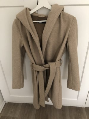 Zara Manteau à capuche multicolore coton