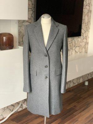 Zara Abrigo de lana gris