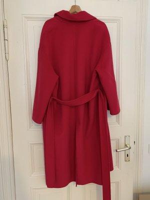 Zara Manteau oversized magenta